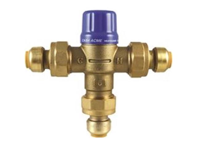cash acme mixing valve instructions