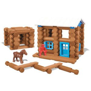 pool noodle lincoln logs instructions