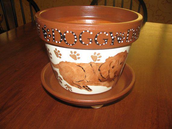 clay pot dog instructions