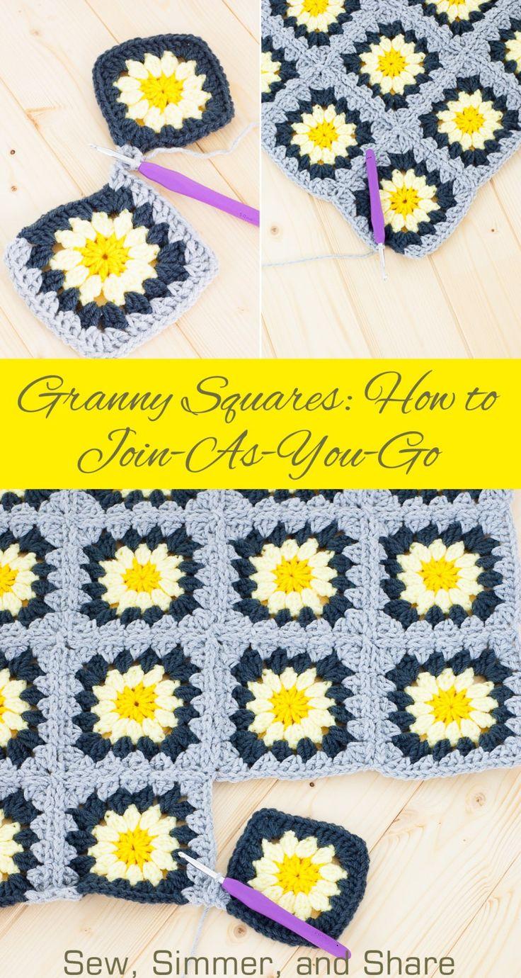 crochet granny square instructions