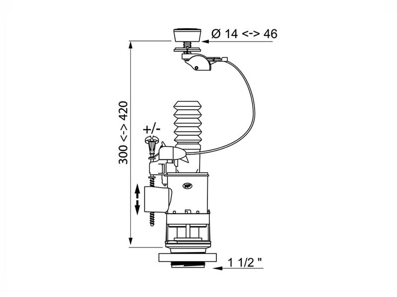 fluidmaster dual flush valve fitting instructions