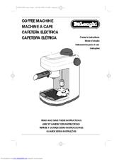 delonghi caffe sorrento instructions