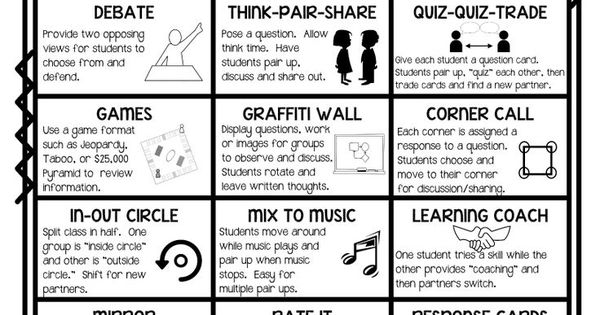 instructional strategies to increase student engagement