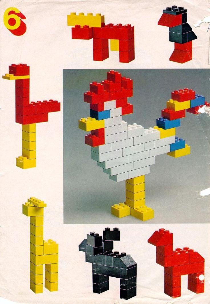 duplo creative animals instructions
