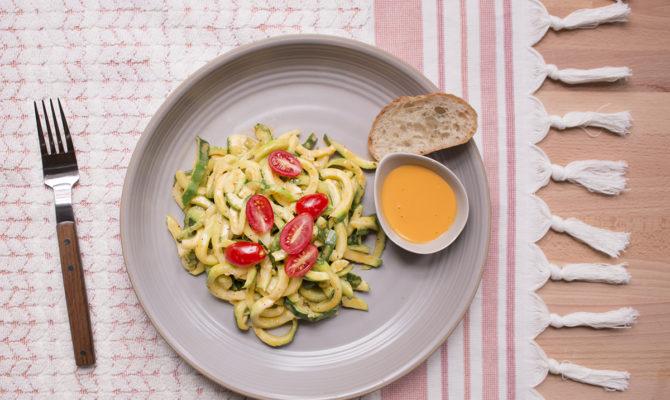 veggie pasta deluxe instructions