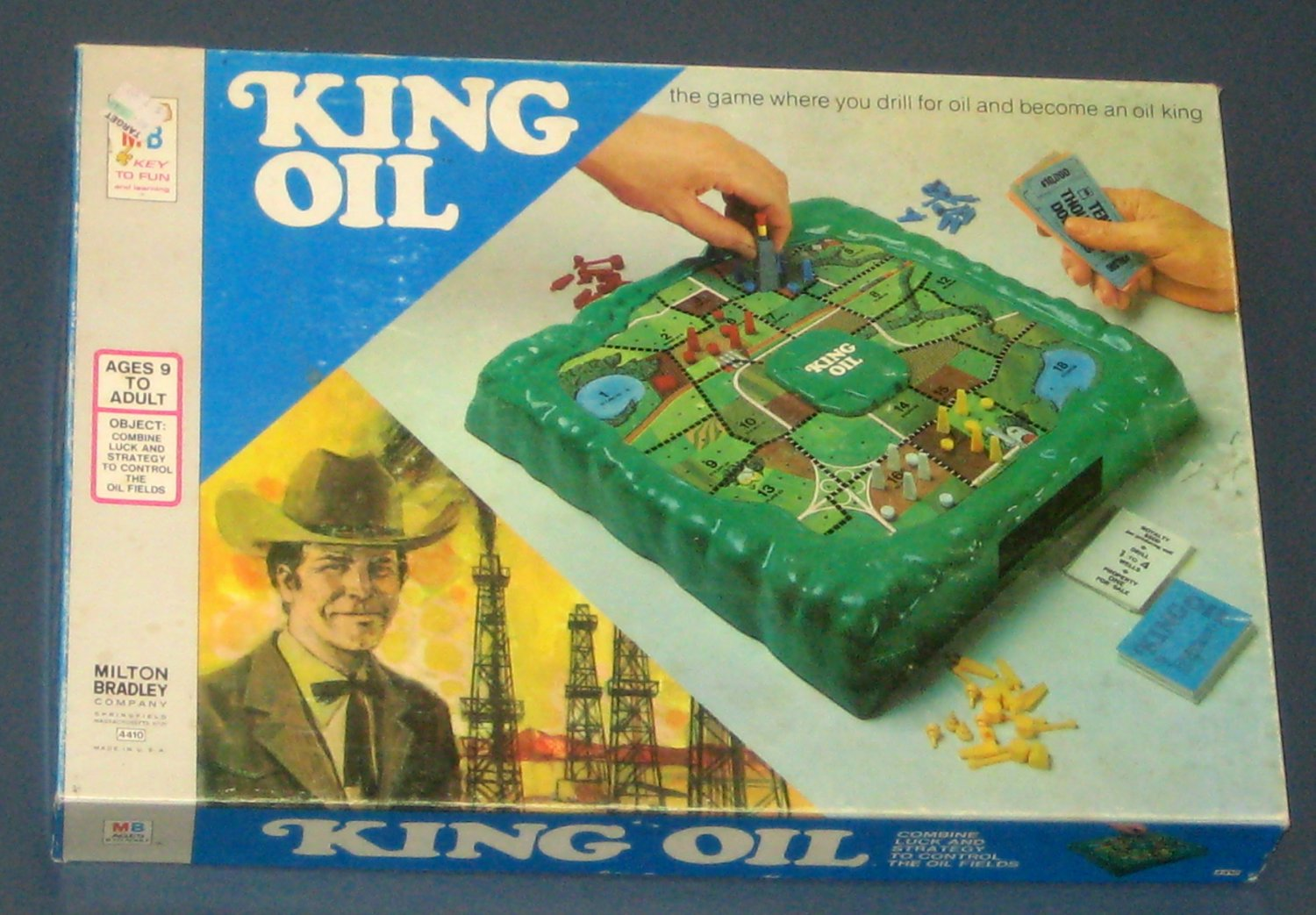 king oil game instructions