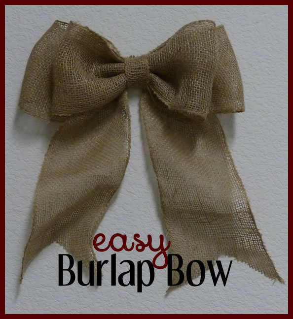 instructions on how to make a bow out of ribbon