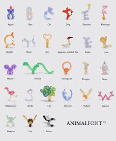 giraffe balloon animal instructions