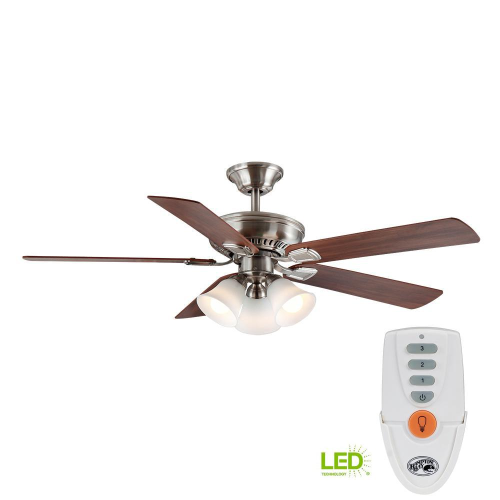 hampton bay ceiling fan installation instructions