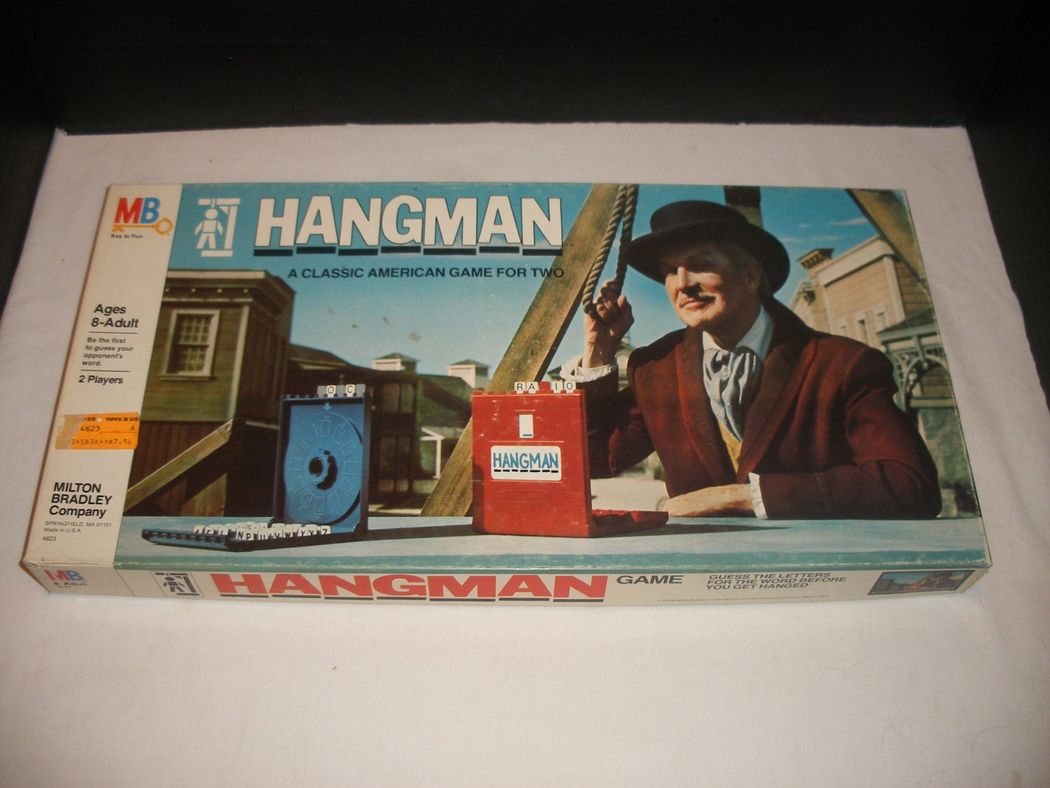 hangman board game instructions