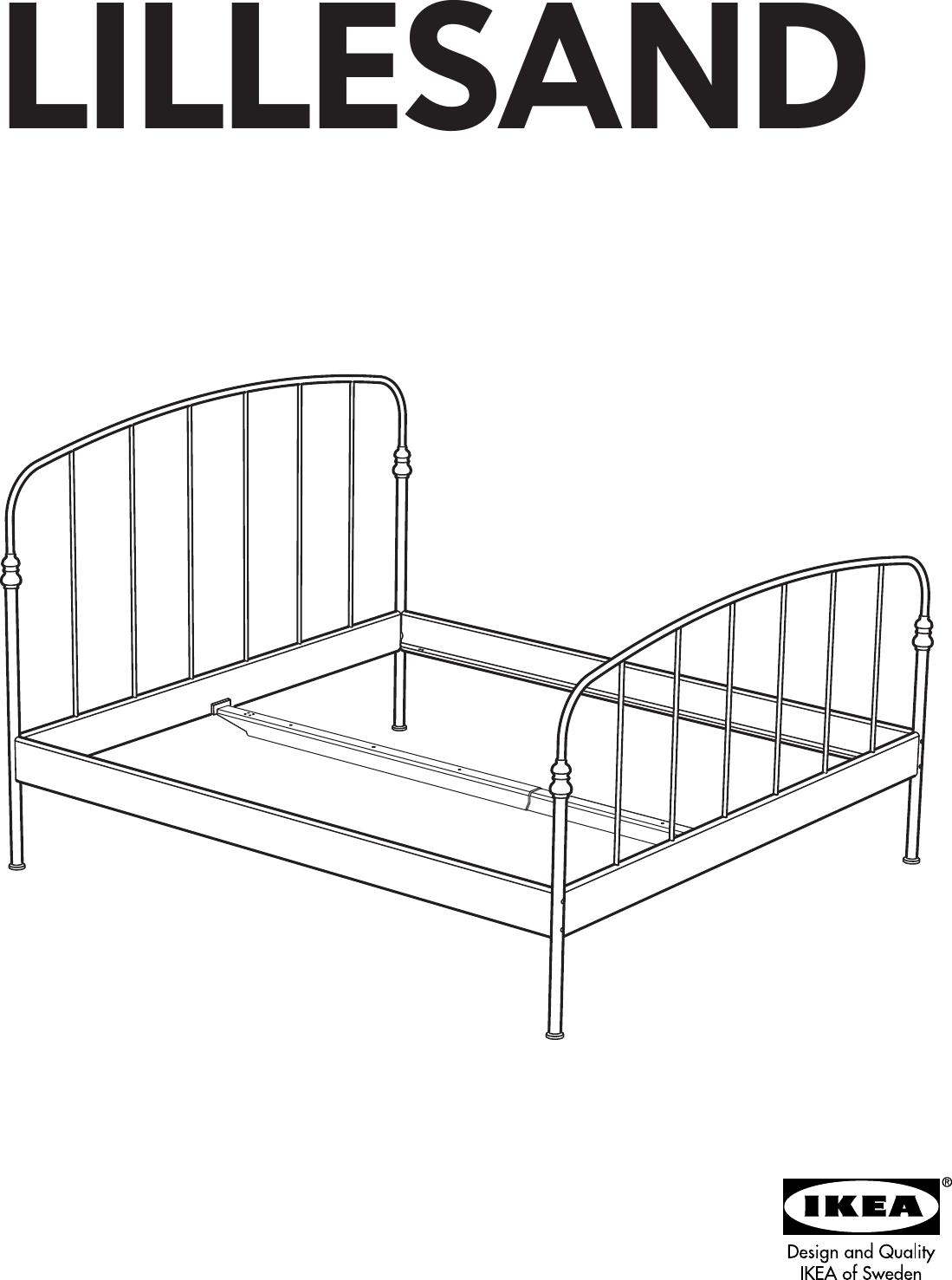 ikea malm single bed assembly instructions