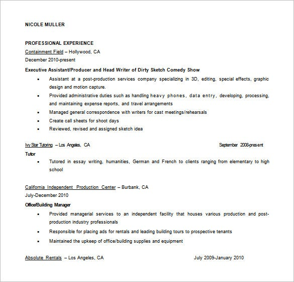 instructional designer professional summary