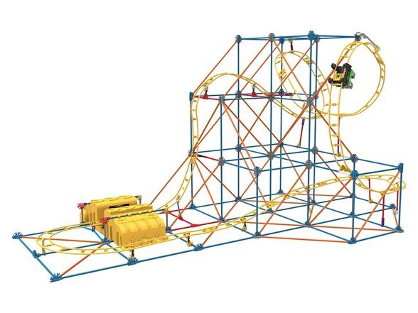 k nex speed coaster instructions