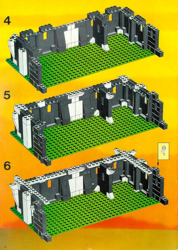 lego castle instructions 6080