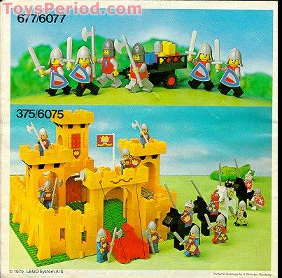 lego classic castle instructions