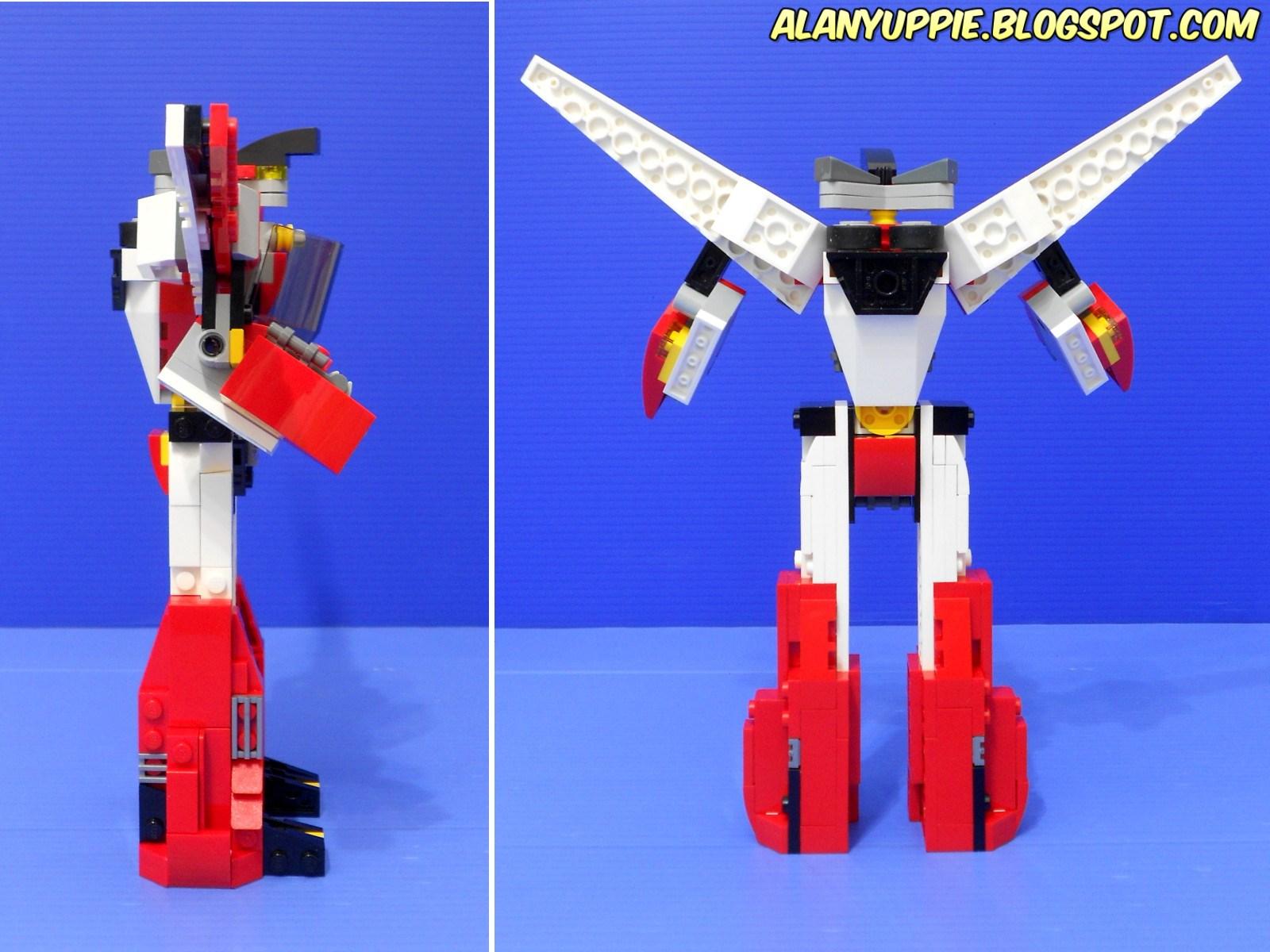 lego creator robot instructions