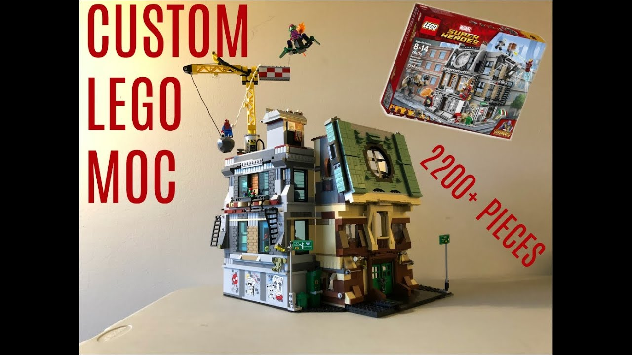 lego dr strange instructions