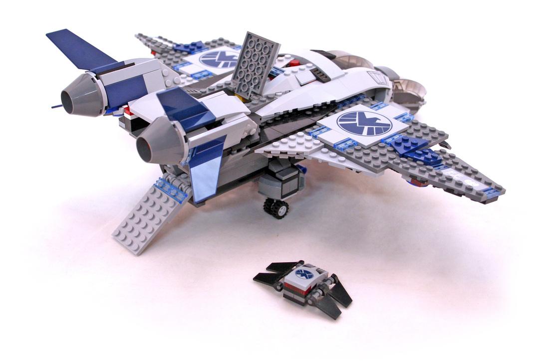 lego quinjet aerial battle instructions
