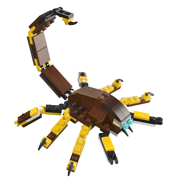 lego scorpion pyramid instructions