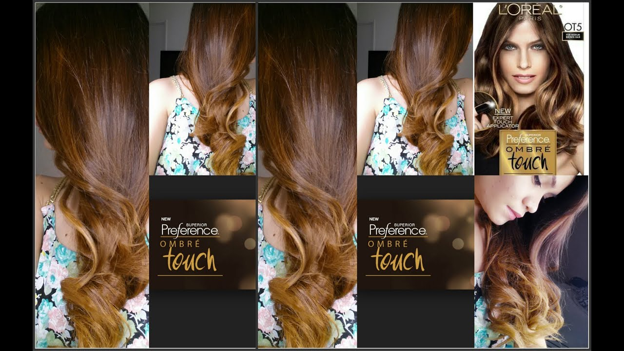 loreal paris preference instructions