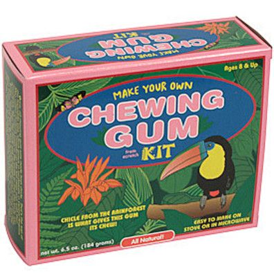 make your own chewing gum kit instructions