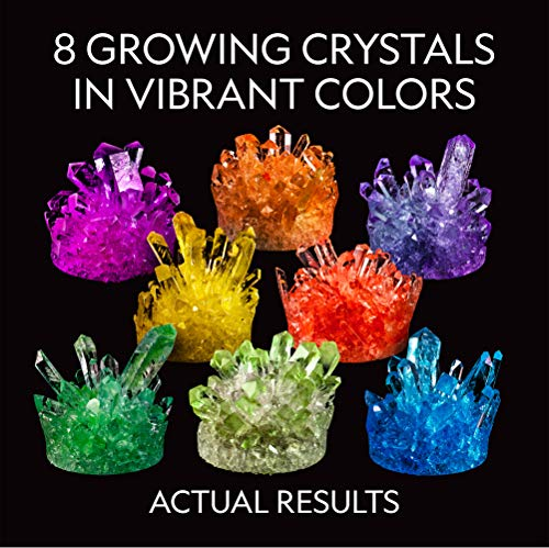 national geographic grow your own crystals instructions