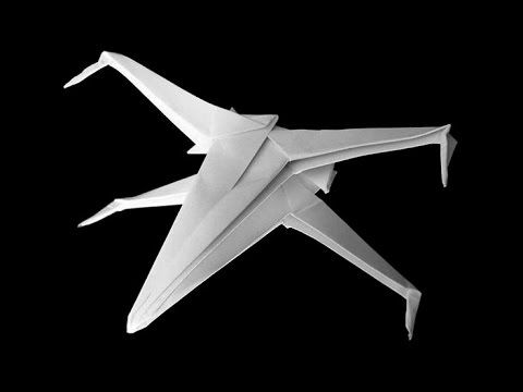origami paper airplane folding instructions