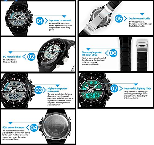 skmei 1016 watch instructions
