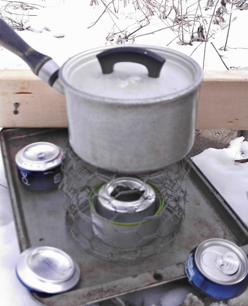 soda can stove instructions