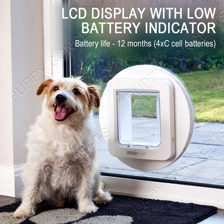 sureflap microchip pet door instructions