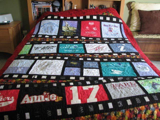 tee shirt blanket instructions