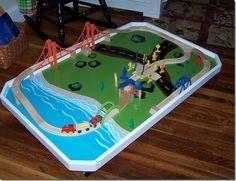toys r us imaginarium train table instructions