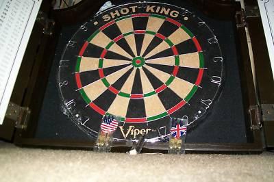 viper dartboard cabinet instructions