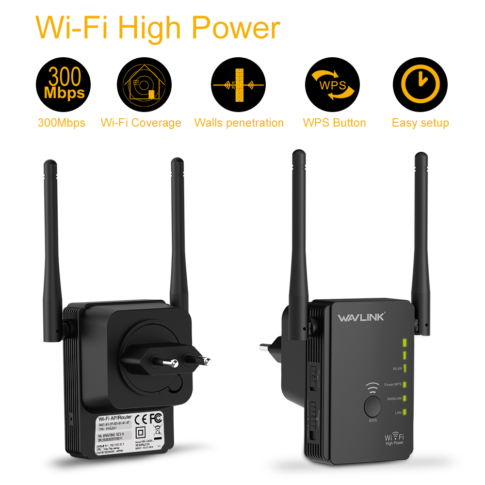 wavlink wifi repeater instructions