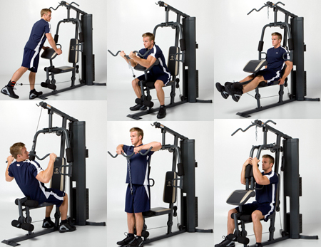 york fitness multi gym assembly instructions